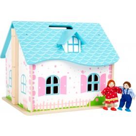 Casa delle bambole pieghevole