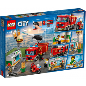 Lego City Fiamme al Burger Bar NEW 03-2019