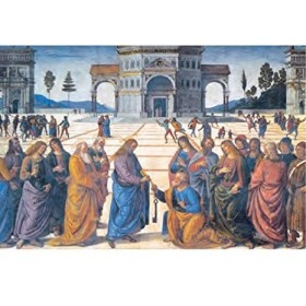 Clementoni Puzzle 1000 pcs Christ giving the keys to Saint Peter