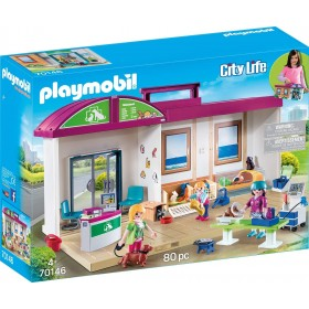 Clinica Veterinaria Portatile Playmobil 70146