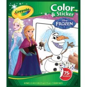 Color & Sticker Crayola