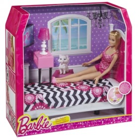 Barbie® Doll and Deluxe Bedroom