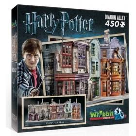 Wrebbit Puzzle 3D Harry Potter Diagon Alley