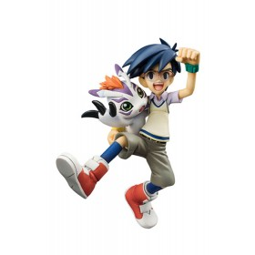 Digimon ADV Joe & Gomamon Gem statue Megahouse