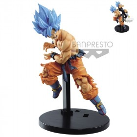 DRAGON BALL - Collection Figurine Tag Fighter Son Goku SS Blue