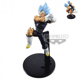 DRAGON BALL - Collection Figurine Tag Fighter Vegeta SS Blue