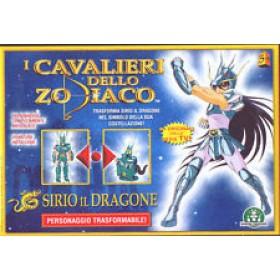 Cavalieri dello zodiaco Sirio il Dragone Giochi Preziosi