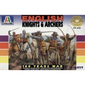 English knights & Archers Italeri