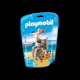 Famiglia dei pellicani Playmobil