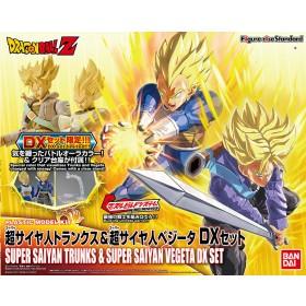Figure Rise SS Trunks & SS Vegeta Dx set Bandai
