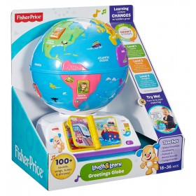 Fisher Price Infant DRJ81 Ridi e Impara Mappamondo del Cagnolino
