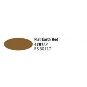Flat Earth Red