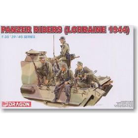German Panzer Riders Lorraine 1944 by Dragon