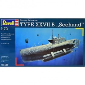 German Submarine Type XXVII B `Seehund`
