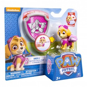 Paw Patrol Skye action pack & badge Spin Master
