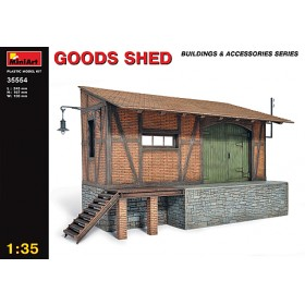 Goods Shed Diorama Accessory