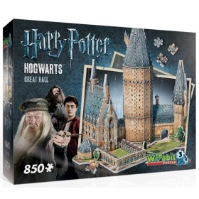 Wrebbit 3D Puzzle Hogwarts Great Hall