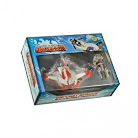 UFO Robot Grendizer Diecast Replica Spacer with Ejectable Grendizer 20th Anniversary