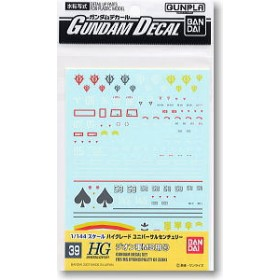 Gundam Decal for (HGUC) Zeon 4