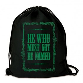 Harry Potter Gym Bag He Who Must Not Be Named