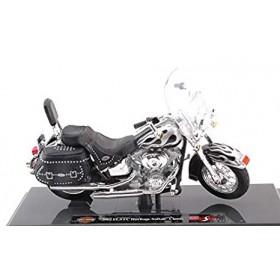 Harley Davidson 2002 FLSTC Heritage Softail Classic Silver / Black