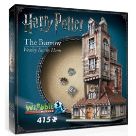 Wrebbit Puzzle 3D Weasley Family Home the Burrow