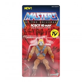 Masters of the Universe Vintage Collection Action Figure Robot He-Man