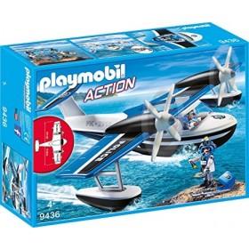 Playmobil Action Idrovolante Polizia