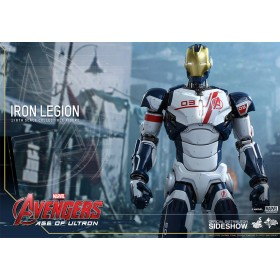 """Avengers 12"""" Iron Legion AOU by Hot toys"""