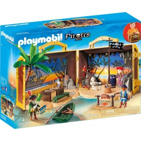 Isola dei Pirati portatile Playmobil 70150