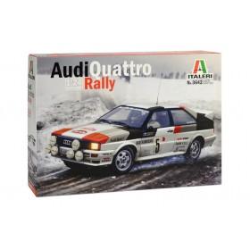 AUDI QUATTRO RALLY Montecarlo 1981