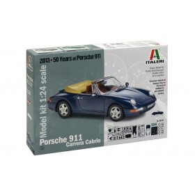 Porsche 911 Carrera Cabrio by Italeri