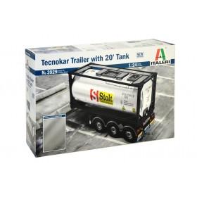 Tecnokar Trailer with 20' Tank Italeri