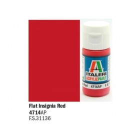 Flat Insigna Red