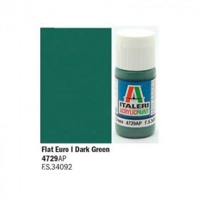 Flat Euro I Dark Green