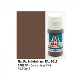 Flat Panzer Schokobraun RAL 8017