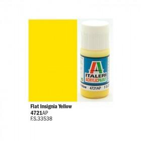 Flat Insigna Yellow