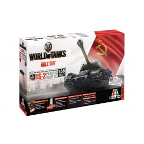 World of Tanks IS-2 Italeri