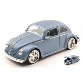 Volkswagen VW Beetle 1959 Silver Blue by Jada toys