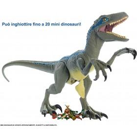 Jurassic World Velociraptor Blue Super Colossale