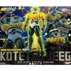 Kotetsu Jeeg Die Cast Action Figure, Magnet Steel Gokin Series MSG-01