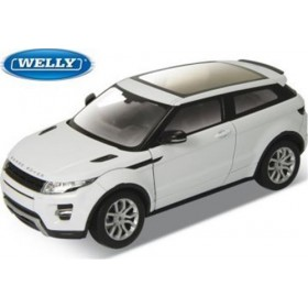 LAND Rover Range Rover Evoque White by Welly