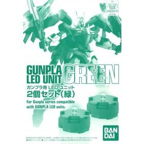MG Led unit set green Bandai