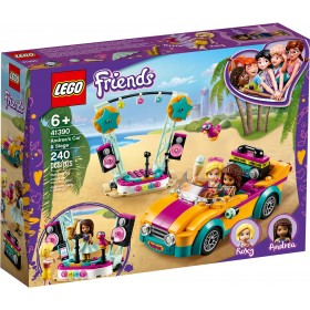Lego Friends Auto e palco di Andrea