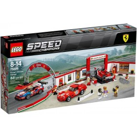 Lego Speed Champions Garage Ferrari