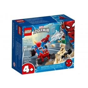Spider Man And Sandman Showdown