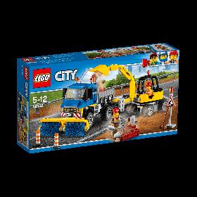 Lego City Sweeper Excavator