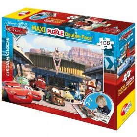 Cars Maxi puzzle double-face Lisciani