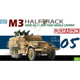 IDF M3 Halftrack Nord SS-11 Anti-Tank Missile Carrier Dragon