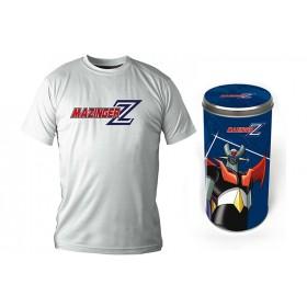 T-Shirt Mazinger Z Logo white boy DLX Size XXL
